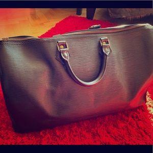 Authentic Louis Vuitton Speedy 40 Black Epi Bag